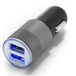 Other - *NEW* 2in1 LED USB Double Car Charger